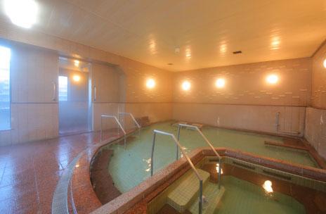 大浴場「伊豫の湯」